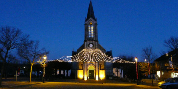 La_Coquille_église_illuminations