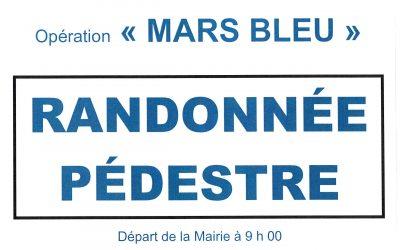 MARS BLEU