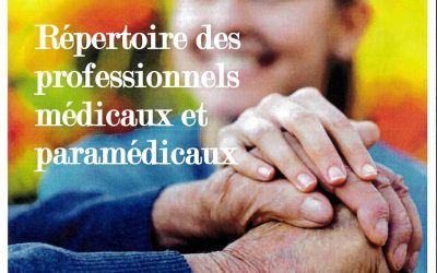 REPERTOIRE DES PROFESSIONNELS MEDICAUX ET PARAMEDICAUX