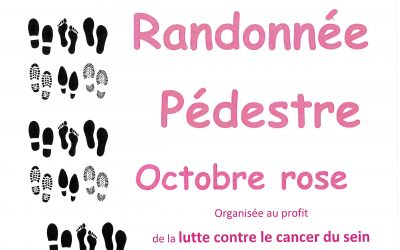 RANDONNEE OCTOBRE ROSE